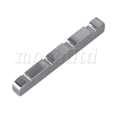 38 x 3.6mm Stainless Steel 4 String Guitar BASS Nut For Acoustic Guitar Silver