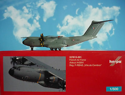 Herpa Wings 1:500 Airbus A400M  French Air Force F-RBAG  527613-001