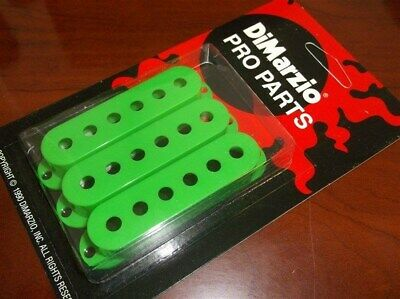 NEW - DiMarzio USA MADE DM2001 Strat Pickup Covers (3) - GREEN