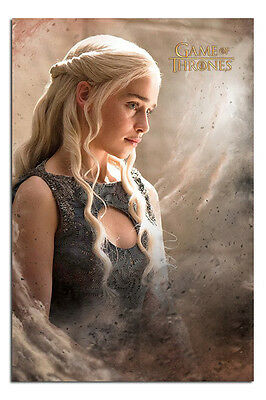 Game Of Thrones Daenerys Poster New - Maxi Size 36 x 24 Inch