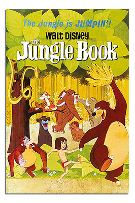 The Jungle Book Classic Walt Disney Film Poster New - Maxi Size 36 x 24 Inch