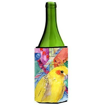 Carolines Treasures KR9028LITERK Bird Cockatiel Wine Bottle Hugger 24 oz.