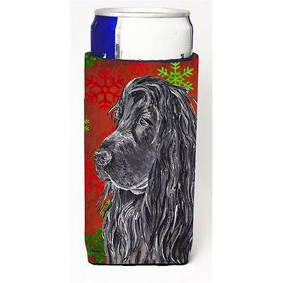 English Cocker Spaniel Red Snowflake Christmas Michelob Ultra bottle sleeves ...