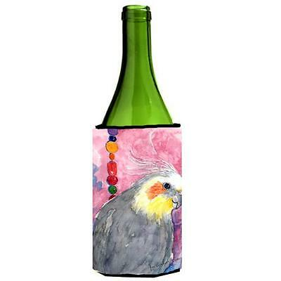 Carolines Treasures KR9027LITERK Bird Cockatiel Wine Bottle Hugger 24 oz.
