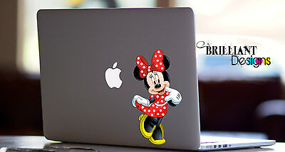 Minnie Mouse, Minnie Mouse Decal, sticker, skin for Apple Computer MacBook Pro