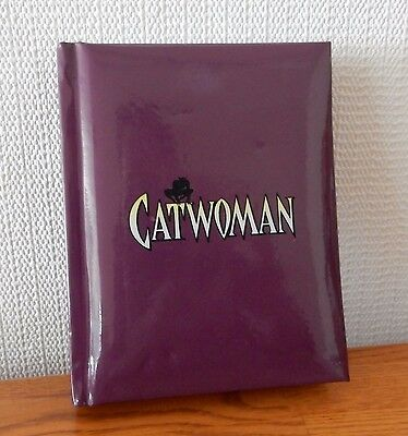 Catwoman Address Book by Chronicle Books DC Comics 2001 NM