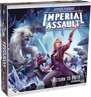 Star Wars Imperial Assault Return To Hoth Licensed Board Game New!!!