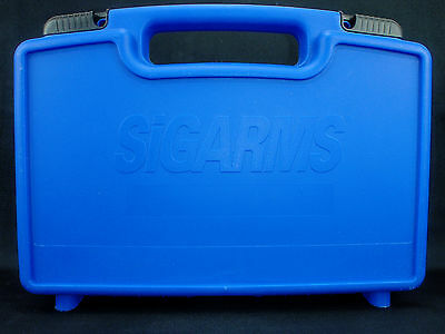 SigArms Compact/Full Size Factory Hard Plastic Sig Sauer Pistol Case