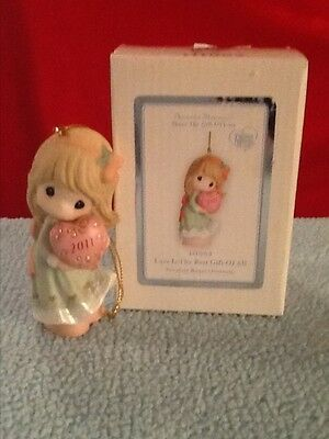 Precious Moments Love Is The Best Gift Of All Dated 2011 Ornament