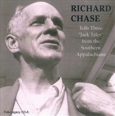 "Richard Chase - Tells Three ""jack Tales"" From The Southern Appalachians New Cd"