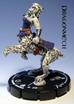 Mage Knight Dark Riders #029 Snow Maiden *