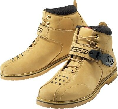 Icon Men s Superduty 4 Street Boots Wheat Super Duty All Sizes 11.5 3403-0193
