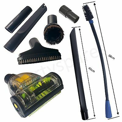 for KARCHER Vacuum Hoover Cleaning Kit Turbo Brush Long Crevice Upholstery Tool