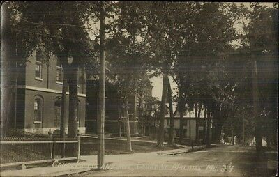 Machias ME Court House & Jail c1920 Real Photo Postcard