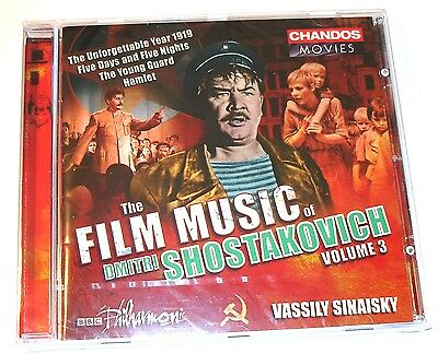 THE FILM MUSIC OF DMITRI SHOSTAKOVICH Volume 3 HAMLET and other Suites CD New