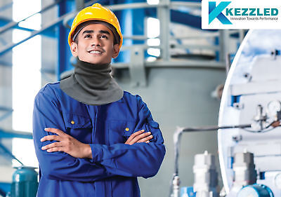 Kezzled Neck Protection - Cut Resistant Neck Wear - Contains DuPont™ and Kevlar