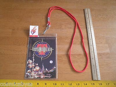 Tomorrowland 1998 Imagineering Preview Party ticket lanyard Opening Disneyland