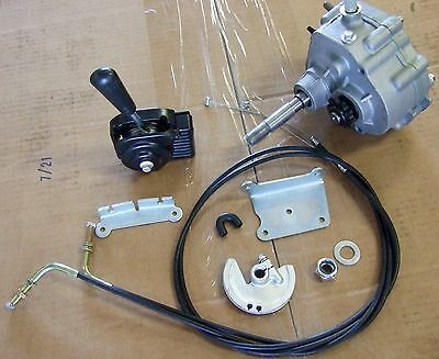Go Kart Forward Neutral Reverse Gearbox  3-8HP Engine  40/41 10t use with TAV30