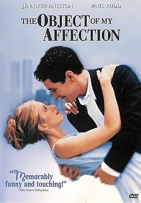 The Object Of My Affection ~ Jennifer Aniston Paul Rudd ~ DVD WS ~ FREE Shipping
