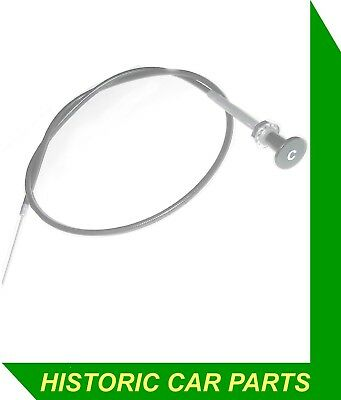 CHOKE CABLE with C Icon for AUSTIN HEALEY Sprite Mk 1 Frog Bug Eye 948 1958-61