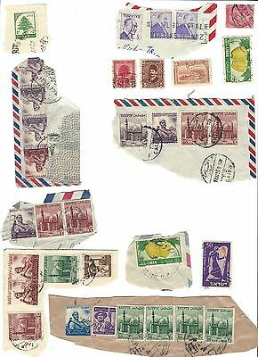 40 20th century cancelled stamps Eygpt, Israel, Turkey, Lebanon, more. archived.