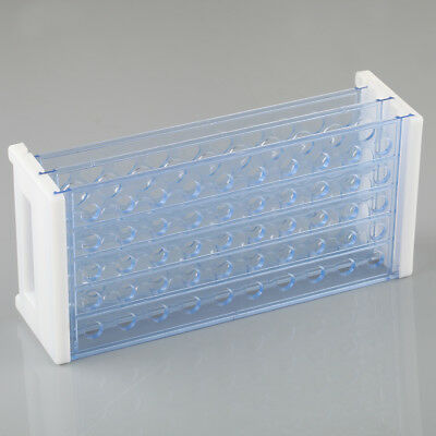 50 Hole 3 Layers Plastic Test Tube Rack Holder Storage For 12-13mm Test Tubes