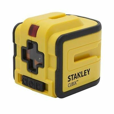 STANLEY Cubix Horizontal/Vertical Self-Leveling Cross Line Laser Level! Plumb