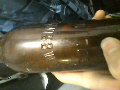 RARE RARE RARE!!! 1908 Mislabled Gambrinus Col.O Bottle From 1908 ( 1 of 3 )