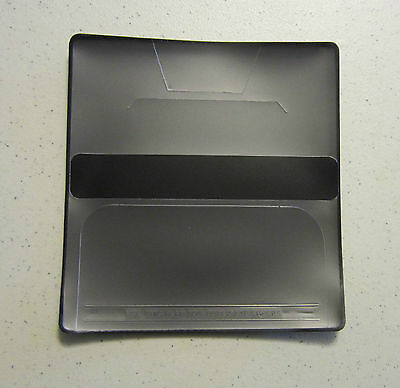Checkbook Cover Vinyl (New) Black or Blue