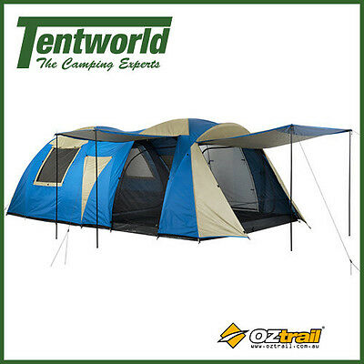 OZtrail Odyssey Duo Dome Tent (12 Man / Person Large Family Camping) *ON SALE*