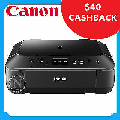 Canon PIXMA MG6860-BK 3-in-1 Wireless Color MFP Printer+NFC+AirPrint+Card Reader