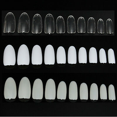 500pcs Faux Ongles Full Cover Tips Capsules Acrylique Gel UV Extension Nail Art
