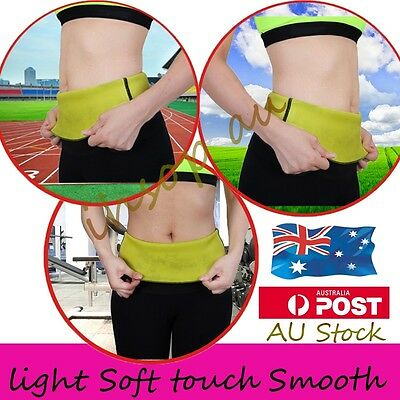Yoga Waist Trainer Sport Body Shaper Tummy Training Girdle Belt Trimmer Cincher
