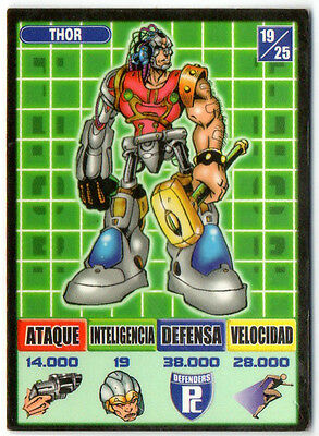 Thor  Defenders 19/25 Kaos The Game Bollycao Ref:00901