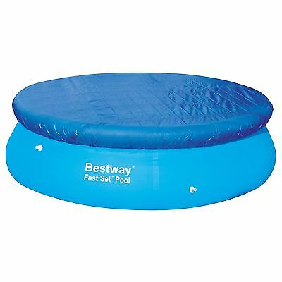 Bestway 12ft Fast Set Swimming Paddling Pool Cover with Rope - BW58034