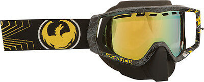 Dragon Vendetta Goggle Rockstar Blackw/gold Ion Lens