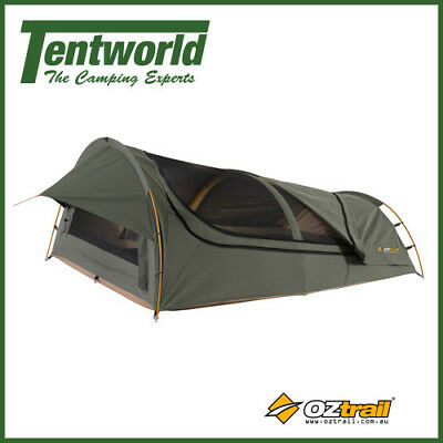OZtrail Mitchell Expedition 2 Man / Person Double Dome Camping Swag