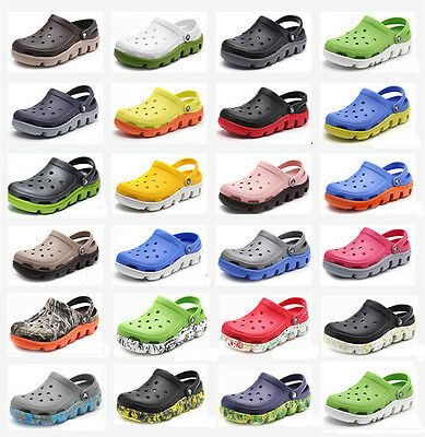Original Croc Adult Duet Sport Slippers Summer Shoes Sandals All Size All color
