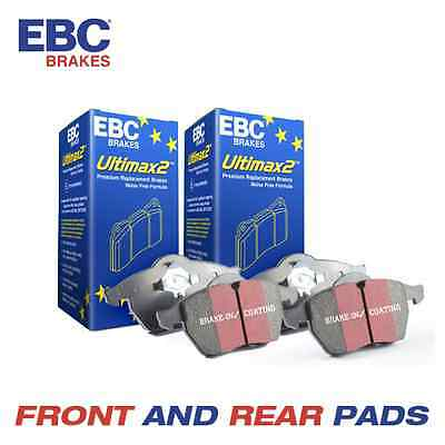 CITROEN C3 Picasso EBC OE Spec Front and Rear Brake Pads 1.6 TD 2009-
