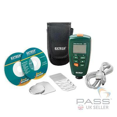 NEW Extech CG204 Coating and Paint Thickness Tester + Software & Accessories/ UK