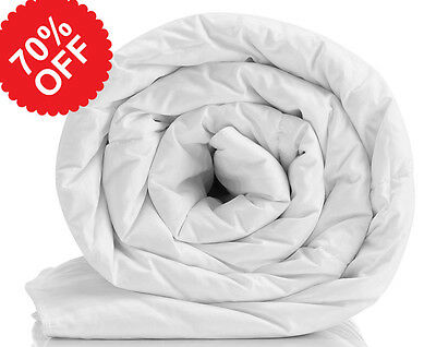 New Hollowfibre Duvet - Single Double King, Summer / Winter Use (Factory Reject)