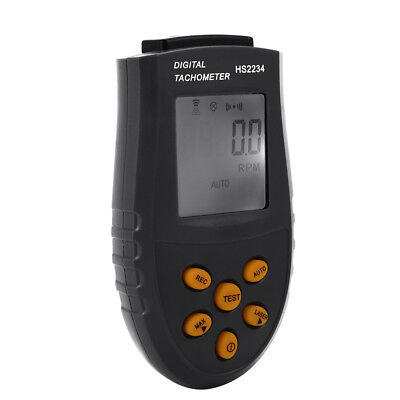 Handheld Digital Laser Tachometer RPM Test Small Engine Motor Speed Gauge TH309