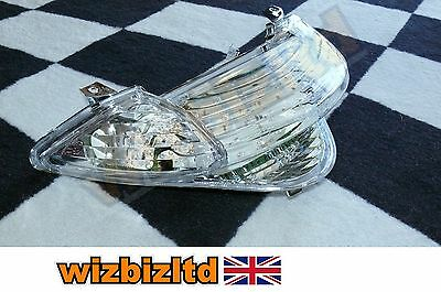 Clear E-Marked Tail Light With LED Indicators Honda VFR800 FIY 2000 LEDH039