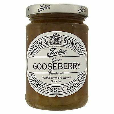 Wilkin & Sons Ltd Tiptree Green Gooseberry Extra Jam 340g