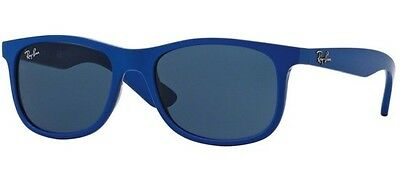 Ray Ban 9062S 9062/s 48 Junior 701780 Sunglasses Matte Blue Bambino Sole