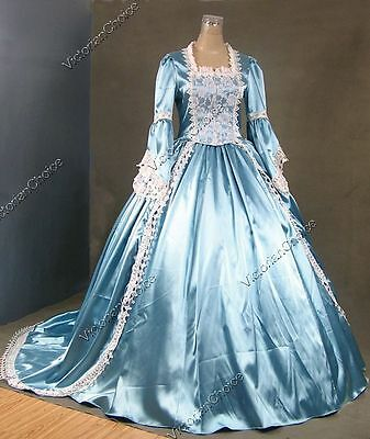 Victorian Renaissance Princess Cinderella Prom Ball Gown Theater Clothing N 150