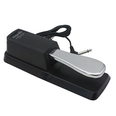 Damper Sustain Effect Foot Pedal Compatible With Yamaha Piano Casio Keyboard WTB