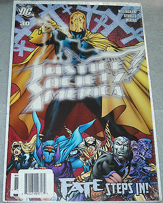 Justice Society of America Comic #30 Oct '09 Fate Steps In! DC Comics New Sealed