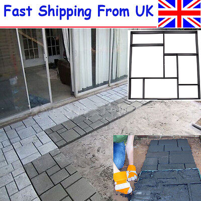 50cm Paving Brick Patio Concrete Slabs Path Pathmate Garden Walk Maker Mould NEW