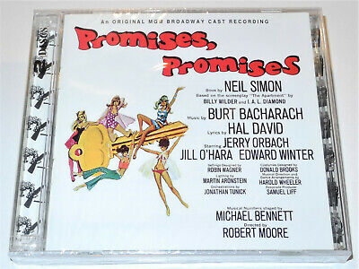 Burt Bacharach PROMISES PROMISES Hal David Broadway Cast Album 2 CD New & Sealed